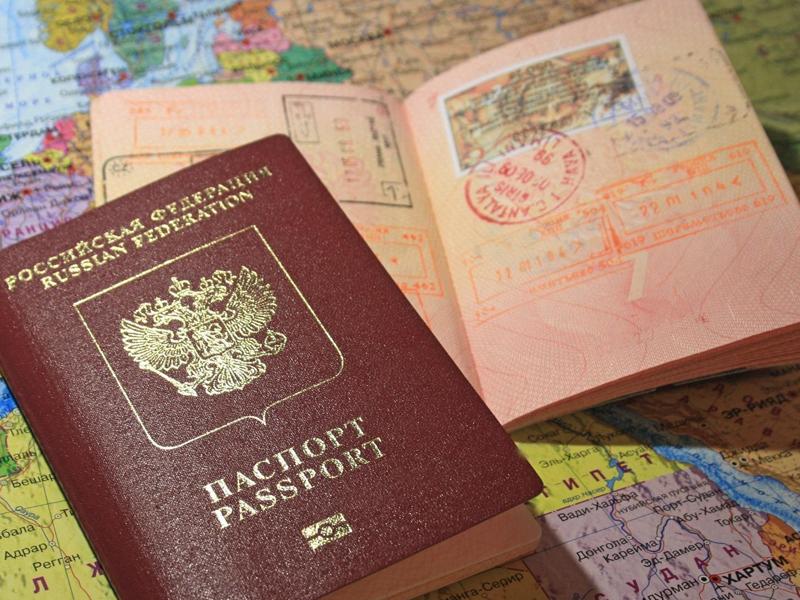 Загранпаспорт вклеить фото дети
